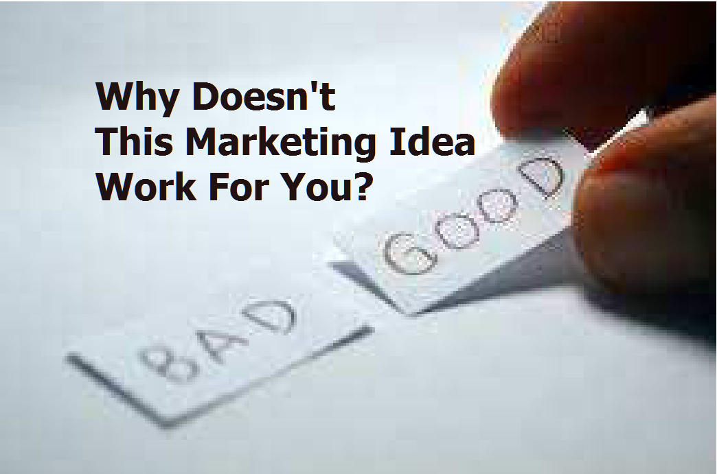 Why Doesn't this Local Store Marketing Idea Work for Your LocalBusiness?
